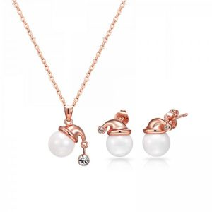Crystal & Pearl Inspired Christmas Set – 3 Colors