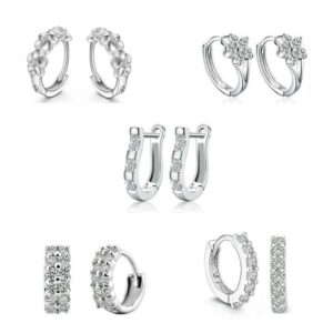 'Monday to Friday' Crystal Earrings Set