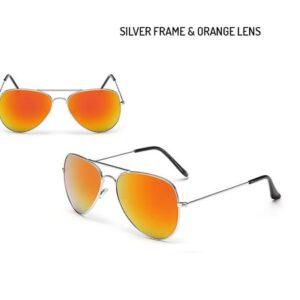 2 Pairs of Unisex Aviator Sunglasses
