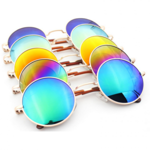 Two Pairs of Vintage Round Sunglasses – 6 Colours