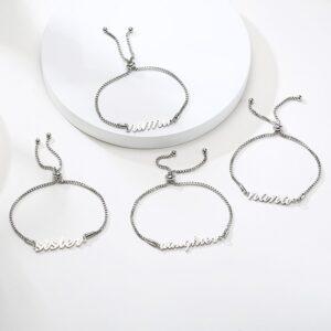 Adjustable Chain Bracelet –